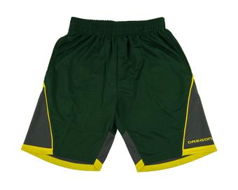 Oregon Ducks Colosseum Green Switchback Shorts (Adult L)