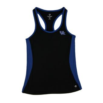 Kentucky Wildcats Colosseum Rapid Race Black Tank Top (Womens XXL)