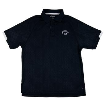 Penn State Nittany Lions Colosseum Navy Gridlock Chiliwear Performance Polo Shirt (Adult S)