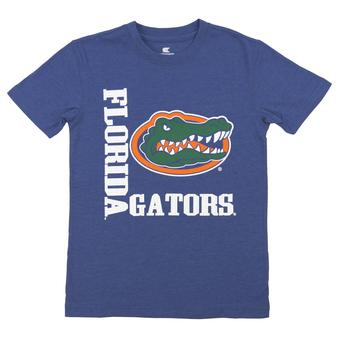 Florida Gators Colosseum Blue Trek Dual Blend Tee Shirt (Youth Small)
