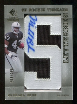 2007 Upper Deck SP Rookie Threads #135 Michael Bush Autograph /250