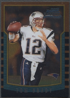 2000 Bowman Chrome #236 Tom Brady Rookie