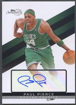 2008/09 Topps Signature #TSAPP Paul Pierce Auto #0211/1999