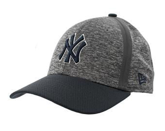 New York Yankees New Era 39Thirty (3930) Gray Retro Clubhouse Flex Fit Hat