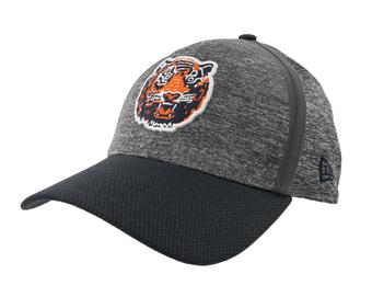 Detroit Tigers New Era 39Thirty (3930) Gray Retro Clubhouse Flex Fit Hat (Adult M/L)