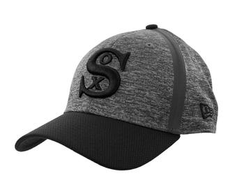 Chicago White Sox New Era 39Thirty (3930) Gray Clubhouse Flex Fit Hat (Adult L/XL)