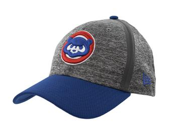 Chicago Cubs New Era 39Thirty (3930) Gray Clubhouse Flex Fit Hat (Adult M/L)