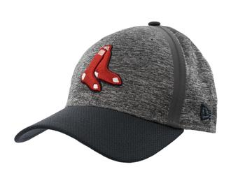 Boston Red Sox New Era 39Thirty (3930) Gray Clubhouse Flex Fit Hat (Adult S/M)