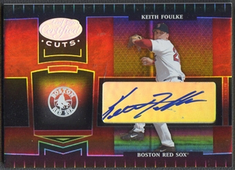 2004 Leaf Certified Cuts #33 Keith Foulke Marble Signature Auto #014/100