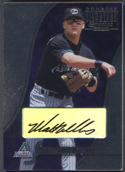 2003 Donruss Signature #7 Matt Williams Auto