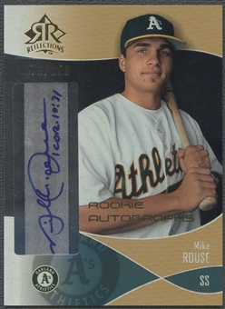 2004 Reflections #124 Mike Rouse Gold Rookie Auto #071/250