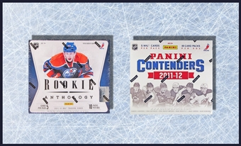 COMBO DEAL - 2011/12 Panini Hockey Hobby Boxes (Rookie Anthology, Contenders)