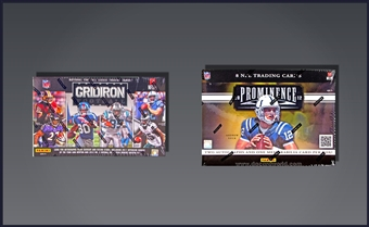 COMBO DEAL - 2012 Panini Football Hobby Boxes (Gridiron, Prominence)