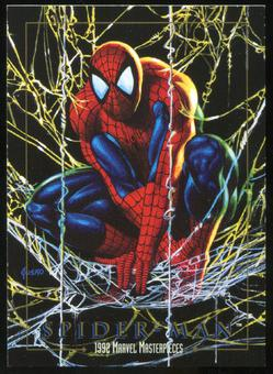1992 Fleer Marvel Masterpieces Promos #5 Spider-Man (Previews)