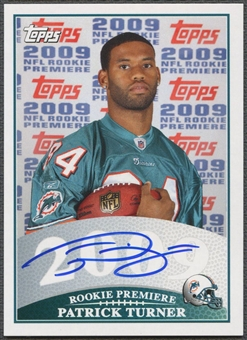 2009 Topps Rookie Premiere #PT Patrick Turner Rookie Auto