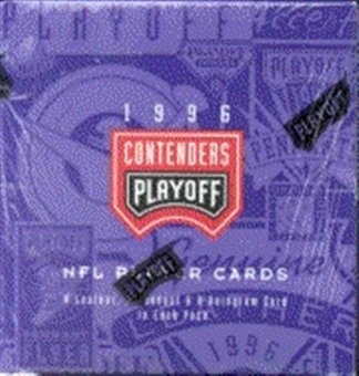1996 Playoff Contenders Football Hobby Box