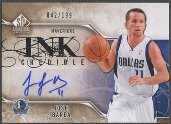 2009/10 SP Signature Edition #IBA Jose Barea INKredible Auto #042/199