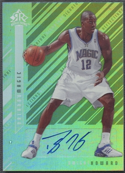 2006/07 Reflections #DH Dwight Howard Signature Silver Auto