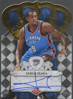 2009/10 Crown Royale #138 Serge Ibaka Rookie Auto #575/699