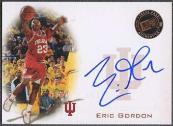 2008 Press Pass #PPSEG Eric Gordon Signings Bronze Rookie Auto