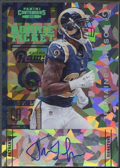 2012 Panini Contenders #193 Trumaine Johnson Cracked Ice Rookie Auto #03/20
