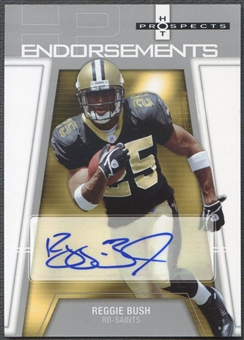 2006 Hot Prospects #HPBU Reggie Bush Endorsements Rookie Auto SP