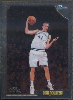 1998/99 Topps Chrome #154 Dirk Nowitzki Rookie