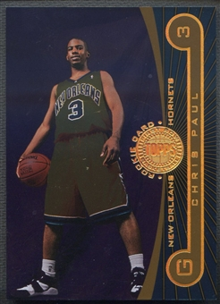 2005/06 Topps First Row #108 Chris Paul Rookie #142/325