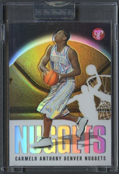 2003/04 Topps Pristine #107 Carmelo Anthony Rookie Refractor #0727/1999