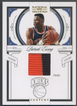 2009/10 Playoff National Treasures #161 Patrick Ewing Century Patch #14/25