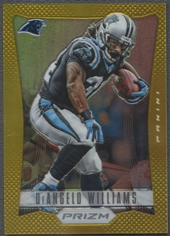 2012 Panini Prizm #27 DeAngelo Williams Gold Prizm #06/10