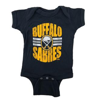 Buffalo Sabres Soft As A Grape Navy Creeper (6 Months)