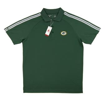 Green Bay Packers Antigua Green Force Performance Polo (Adult X-Large)