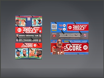 COMBO DEAL - Score Football Boxes (2013 Score 36-Pack Box, 2012 Score 36-Pack Box)