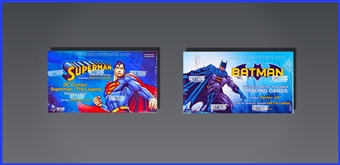 COMBO DEAL - DC Comics: The Legend Boxes (Batman, Superman) (Cryptozoic 2013)