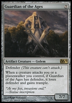 Magic the Gathering 2014 Single Guardian of the Ages - NEAR MINT (NM)