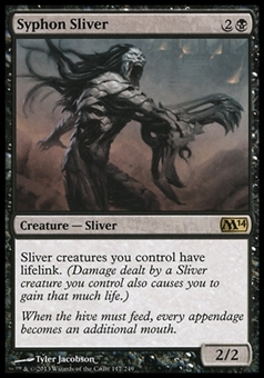 Magic the Gathering 2014 Single Syphon Sliver - NEAR MINT (NM)