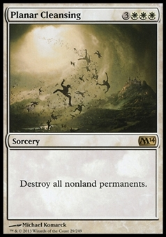 Magic the Gathering 2014 Single Planar Cleansing - NEAR MINT (NM)
