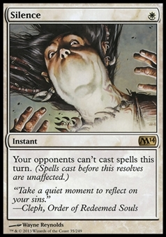 Magic the Gathering 2014 Single Silence - NEAR MINT (NM)