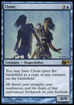 Magic the Gathering 2014 Single Clone - NEAR MINT (NM)