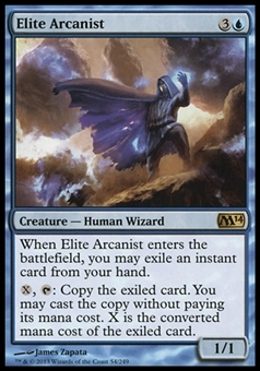 Magic the Gathering 2014 Single Elite Arcanist - NEAR MINT (NM)
