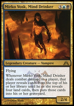 Magic the Gathering Dragon's Maze Single Mirko Vosk, Mind Drinker - NEAR MINT (NM)