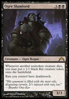 Magic the Gathering Gatecrash Single Ogre Slumlord - NEAR MINT (NM)
