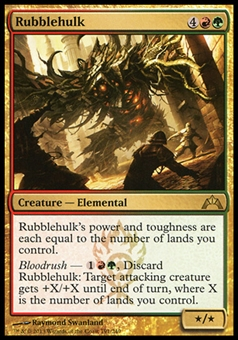 Magic the Gathering Gatecrash Single Rubblehulk - NEAR MINT (NM)