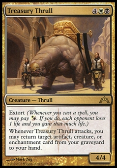 Magic the Gathering Gatecrash Single Treasury Thrull Foil - NEAR MINT (NM)