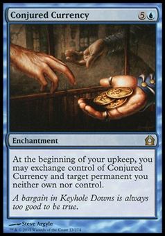 Magic the Gathering Return to Ravnica Single Conjured Currency - NEAR MINT (NM)