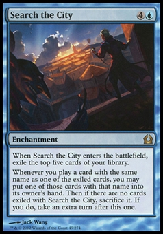 Magic the Gathering Return to Ravnica Single Search the City - NEAR MINT (NM)