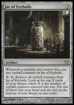 Magic the Gathering Dark Ascension Single Jar of Eyeballs - NEAR MINT (NM)