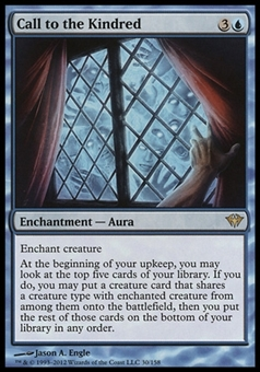 Magic the Gathering Dark Ascension Single Call to the Kindred - NEAR MINT (NM)