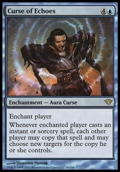 Magic the Gathering Dark Ascension Single Curse of Echoes UNPLAYED